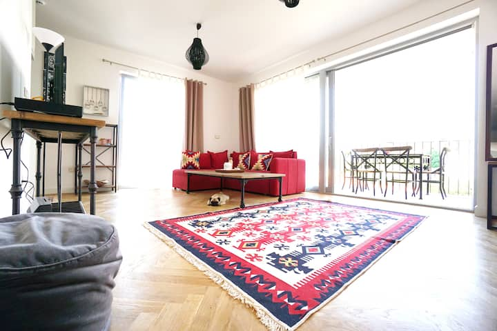 ★ BEACH APARTMENT WITH SEA -AND PERAST VIEW