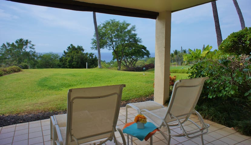 Country Club Villas #101, Pools, Ocean/Golf Views - Kailua-Kona - Condo