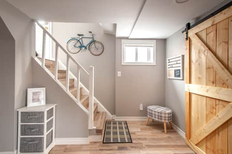 Cozy Modern Farmhouse Decor - Basement Suite