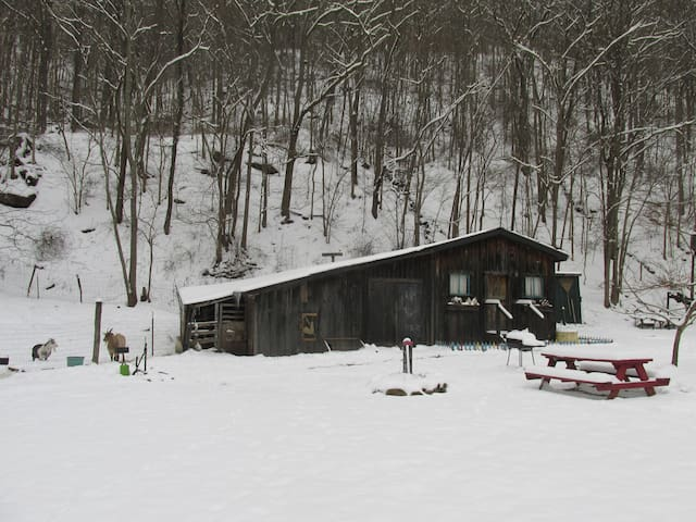The Barn is now available during the winter. We have updated the heating and insulation so it stays nice and cozy year-round.