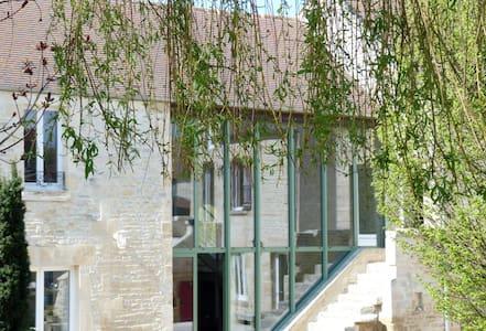 Chambre d'hôtes de Charme. Chambre Côte de Nacre - Fontaine-Henry - Pousada