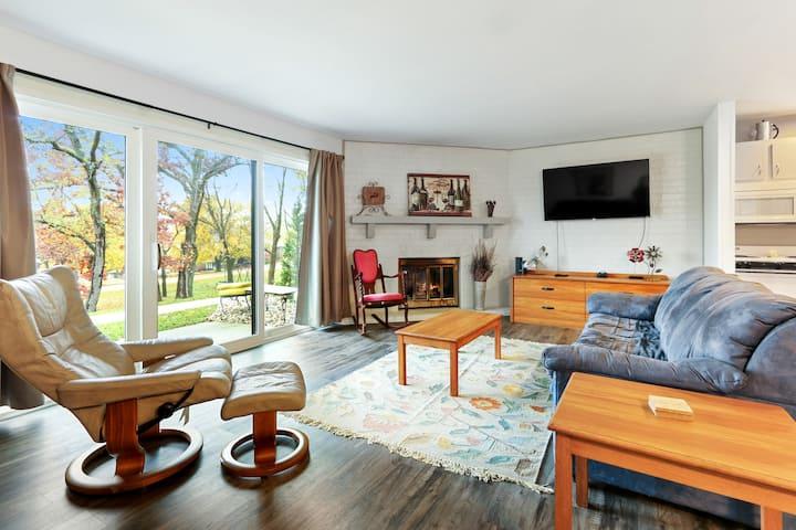 Enjoy this updated one-bedroom condo!
