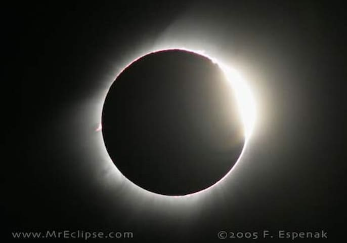 High plains eclipse