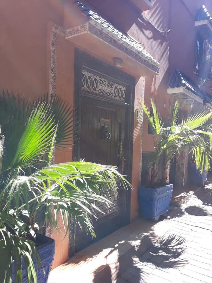 Chambre privée au coeur de la médina, Marrakech
