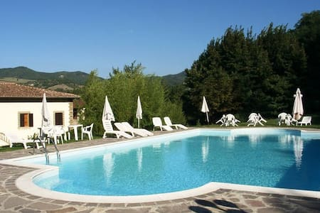 Tuscan style villa with pool in a quiet position - Vicchio - Villa