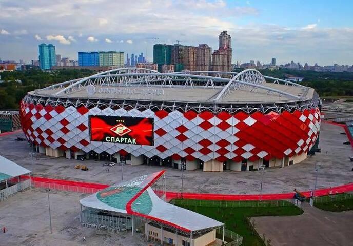 1 Room near Spartak Stadium  FIFA 2018