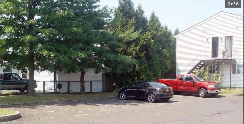 Parking (Back Of Property)