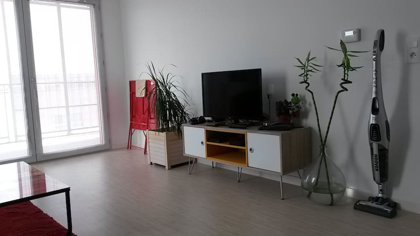 Apartment 20' from Bordeaux by tramway (at 1'walk)