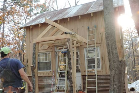 Peach's Paradise Eco-Cabin on 23.8 Acres. - Asheboro