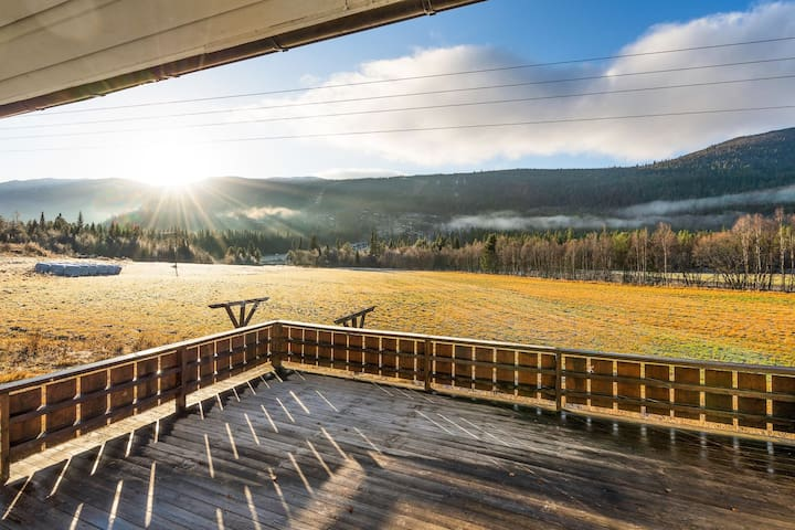 Panorama Ski inn Ski out 2min til alpin/langrenn