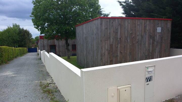 2ème chambre à louer dans maison récente en bois