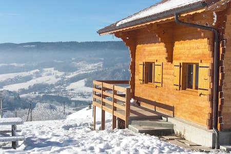 Chalet savoyard été - hiver - Habère-Poche