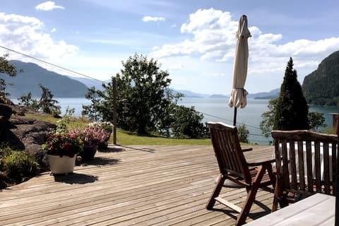 Beautiful view @ Hardangerfjord