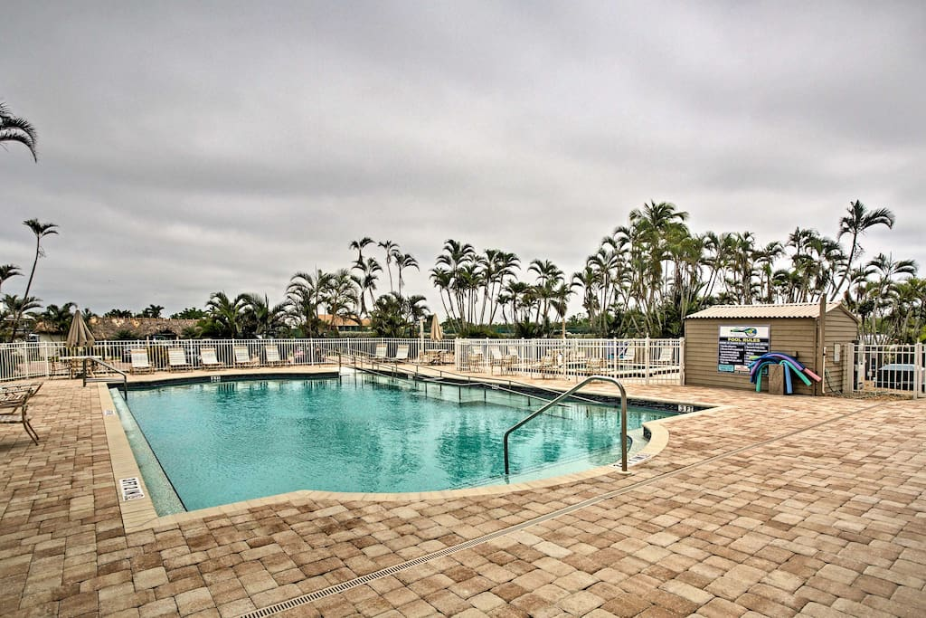 Relax at one of 2 community pools.