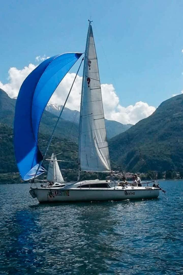 Kristine la nostra barca