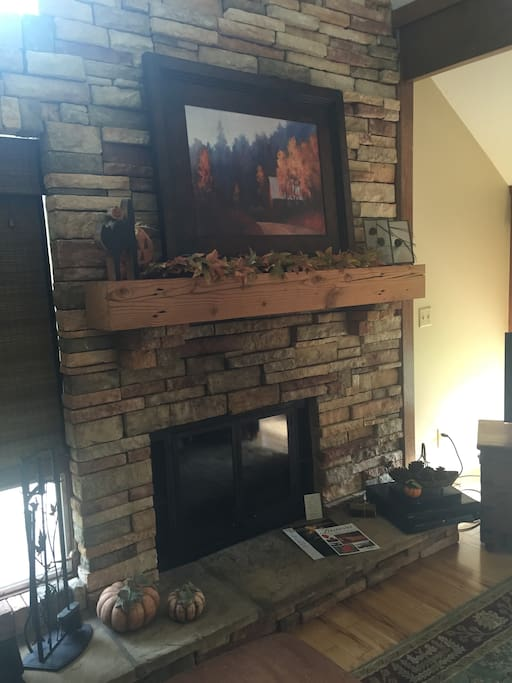 Main Level Family  room Fireplace