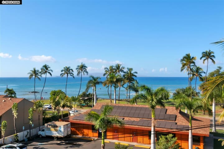 Private Studio Across from Ocean - Kihei - Apto. en complejo residencial