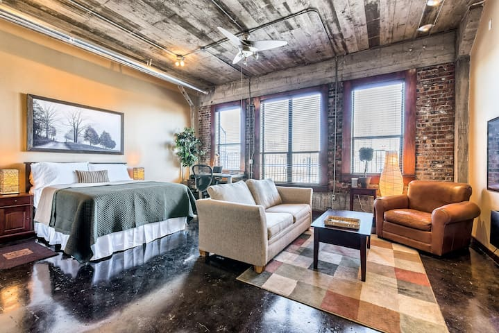 Downtown Loft with city views - Houston - Loft