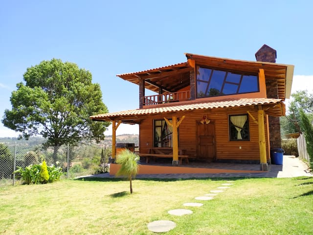 Cabaña en Mazamitla, Gran Paisaje y Naturaleza