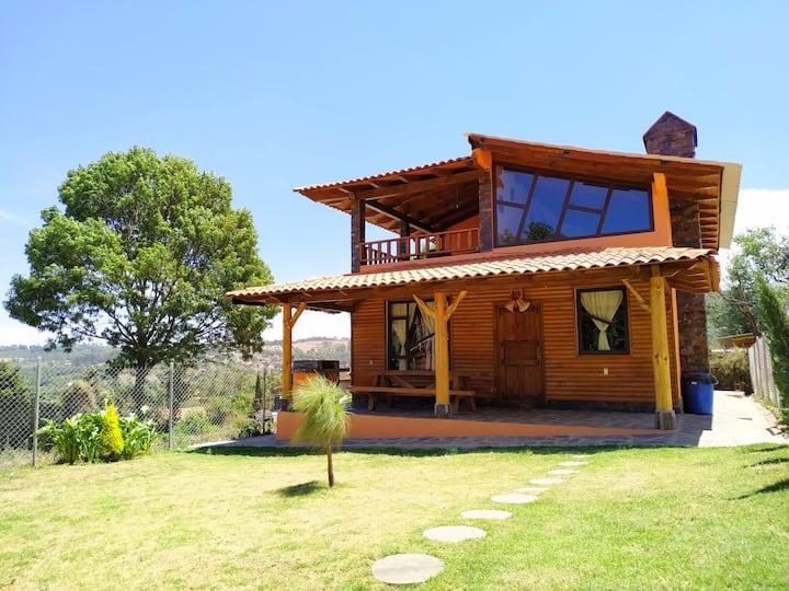 "Cabaña ""Los Fresnos"" 1 en Mazamitla (Sanitizada)"