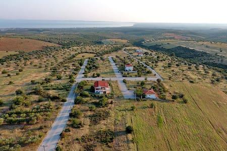 Gerakini detached house with panoramic sea views