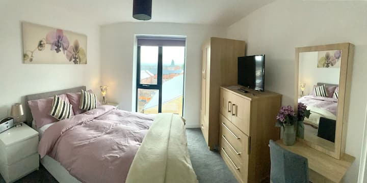 Double Room With TV  & Private Bathroom