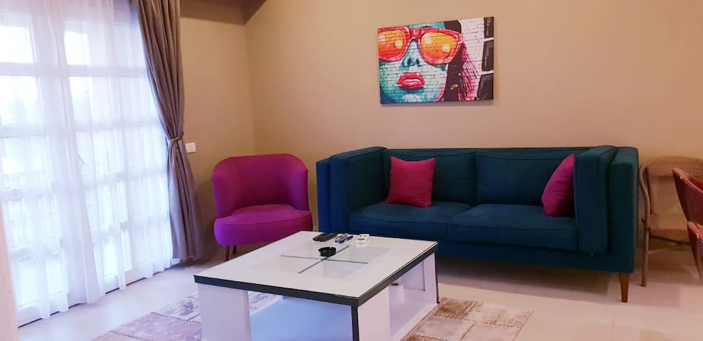 Modern two-bedroomed apartment in Abu Tig Marina