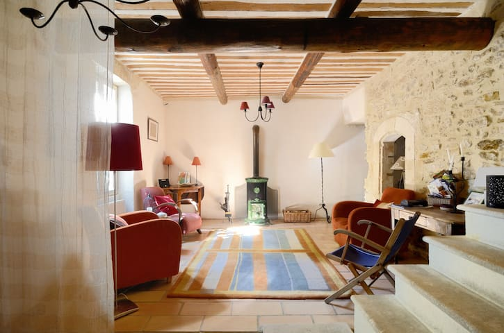 Luberon, traditional house and pool - Ménerbes - บ้าน