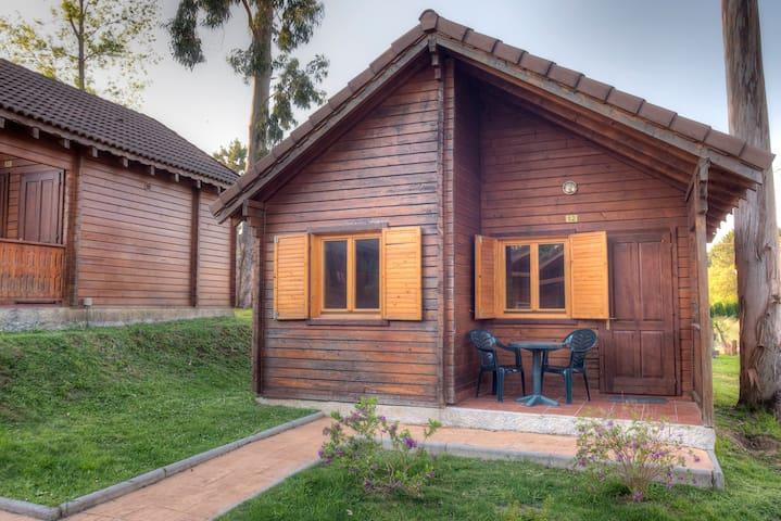 Bungalow 2 habitaciones (4 pax) Camping Cachadelos