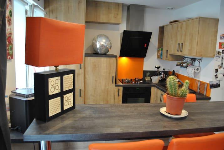 duplex ultra centre Lisieux - Lisieux - Apartment