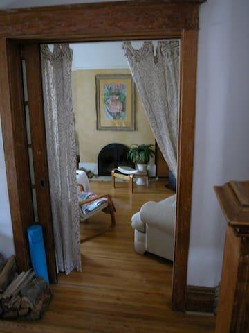 Master bed-sunroom/HighPark-Sunnyside-Roncesvalles