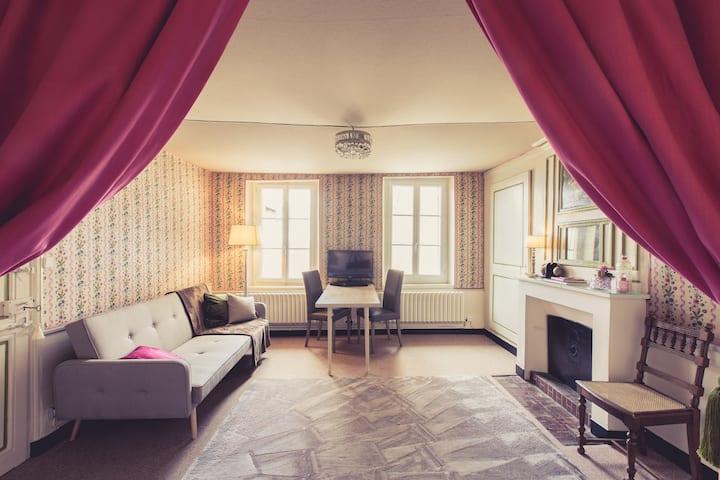 Petit appartement Alexandra XVIIIe coeur de ville