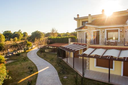 Luxury villa with panoramic view - AFYTOS - ΚΑΣΣΑΝΔΡΑ ΧΑΛΚΙΔΙΚΗ