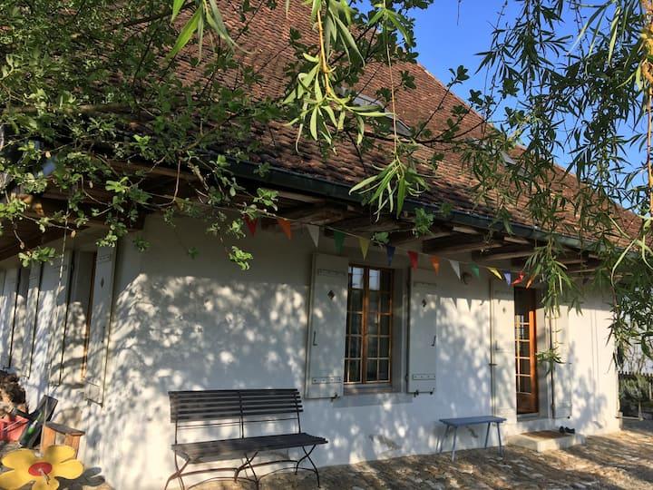 Altes Jurahaus 5 km ausserhalb Stadt Solothurn (1)
