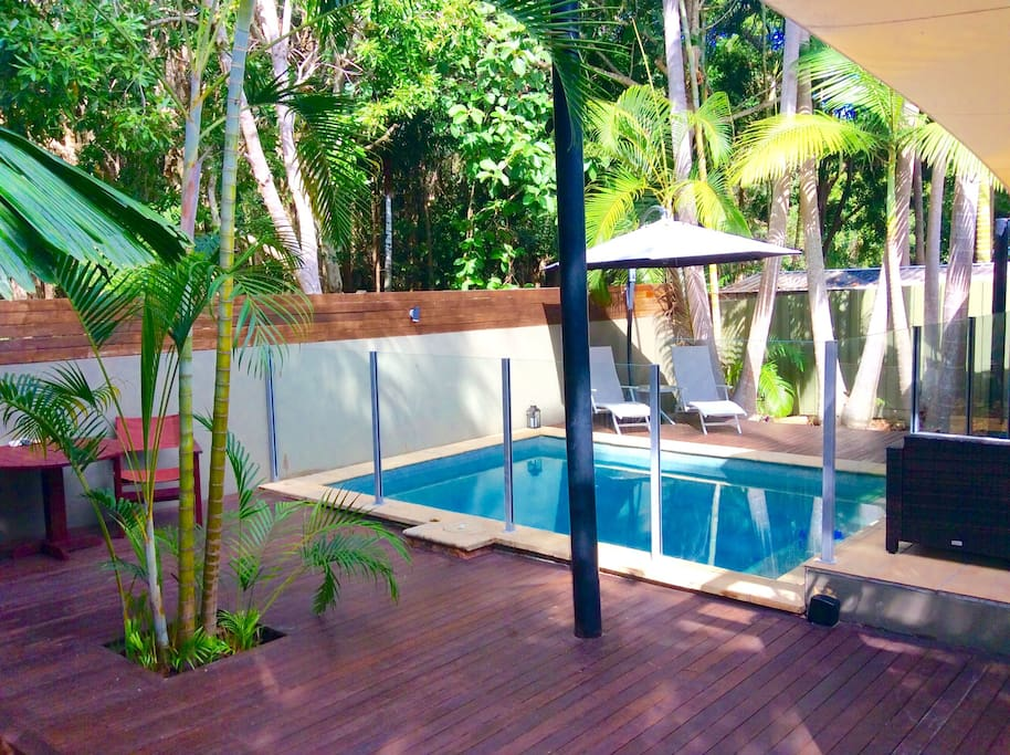 Bali ha 39 i tropical oasis by the beach houses for rent for Pool show on foxtel