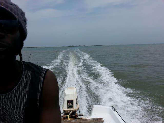 En route pour la pêche