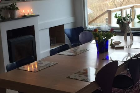Great house with pool and sea View - Göteborg
