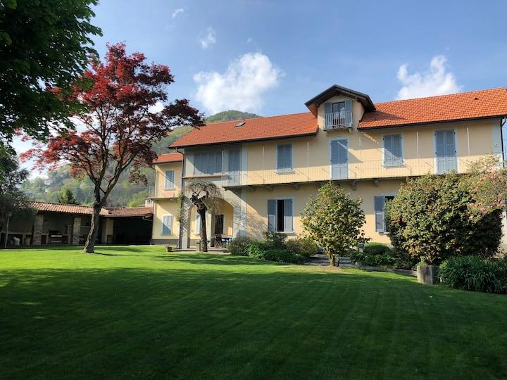 Villa Galli avec jardin Lac Maggiore