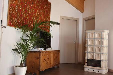 mansarda ampi spazi vista splendida - San Lorenzo Dorsino - Apartment - 2