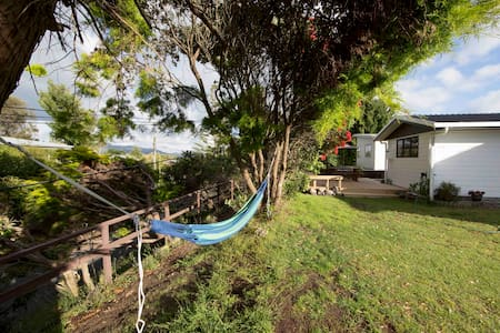 Private retreat by Waikanae river and estuary - Paraparaumu - Talo