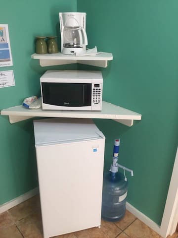 coffee maker microwave drinking water available
