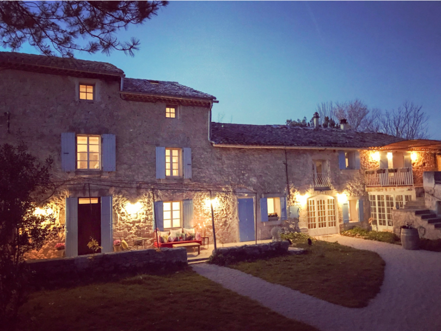 Our domaine / night view