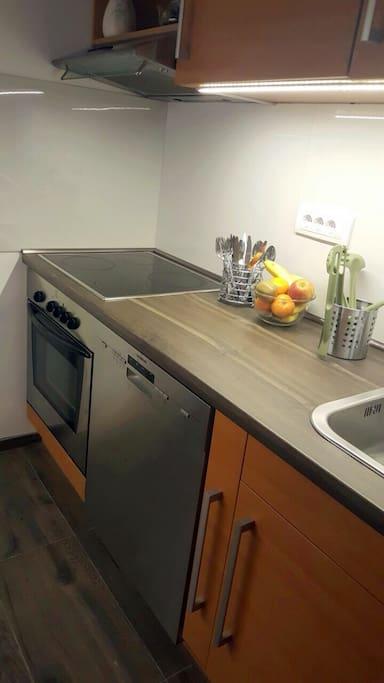Kitchen area- separate area