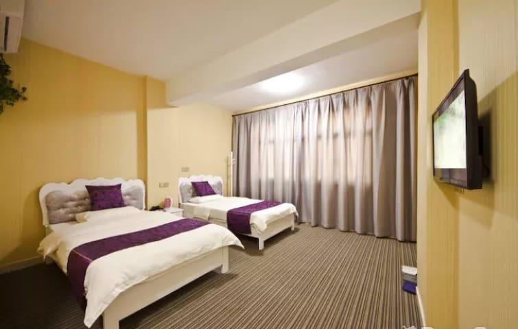 福州长乐国际机场旁民宿(免费接送机)——紫色情迷标间 - 福州