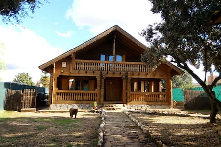 Casa de madera habitaciones privada - pioz - House