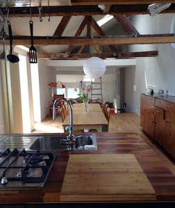 Characterful loft in the historical city center - Loft