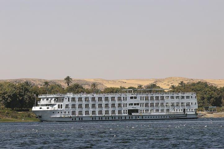 Croisiére de rêve sur le Nil 7 nuits5*louxor aswan