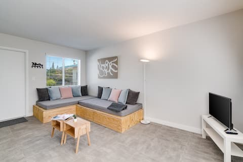 Brand new, central  location  + Free Parking