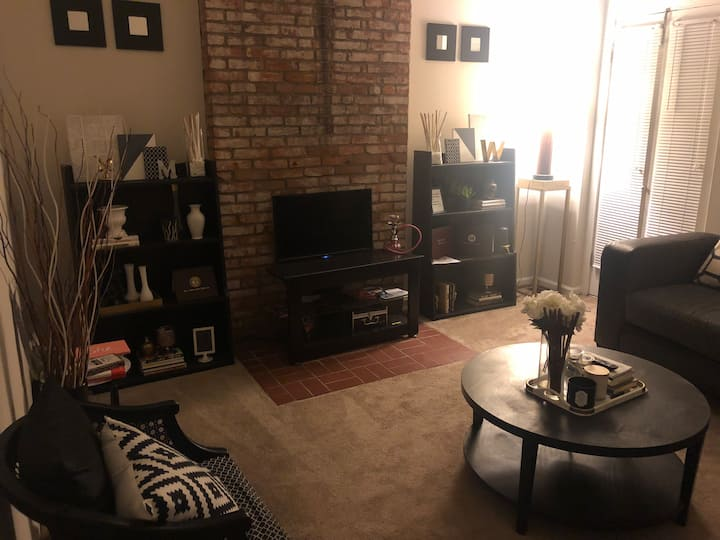 Cozy modern apartment in the heart of Soulard Stl!