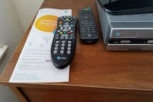 HD ATT U-Verse Digital Smart TV with over 200 Channels in the Living Room